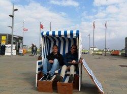 Strandkorb testen: Kevin & Clemens