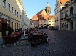 Die Altstadt in Pirna