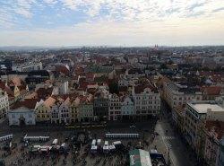 Blick über die Stadt vom Kirchturm