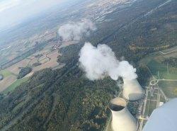 Ein kurzer Blick auf das Kernkraftwerk Grundremmingen