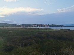 Blick über die Bucht Zaljev Soline