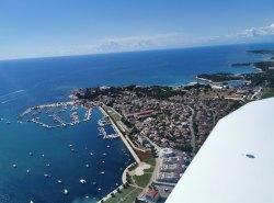 Abflug über Portorož