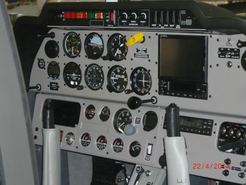 Das Cockpit unserer neuen Regent - jetzt mit Flymap...