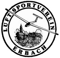 Luftsportverein Erbach e.V. Logo am Flugplatz Erbach / Ulm (EDNE)